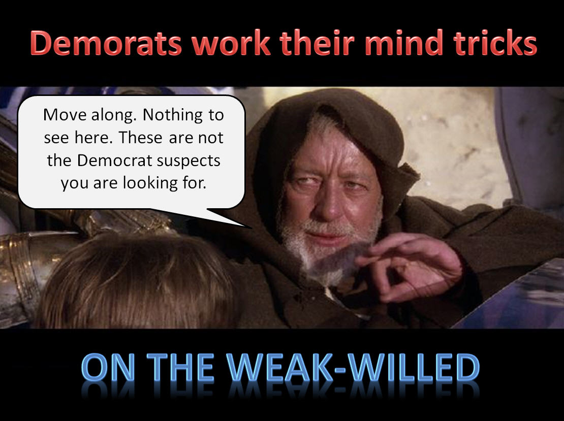 Democrat Jedi Mind Tricks