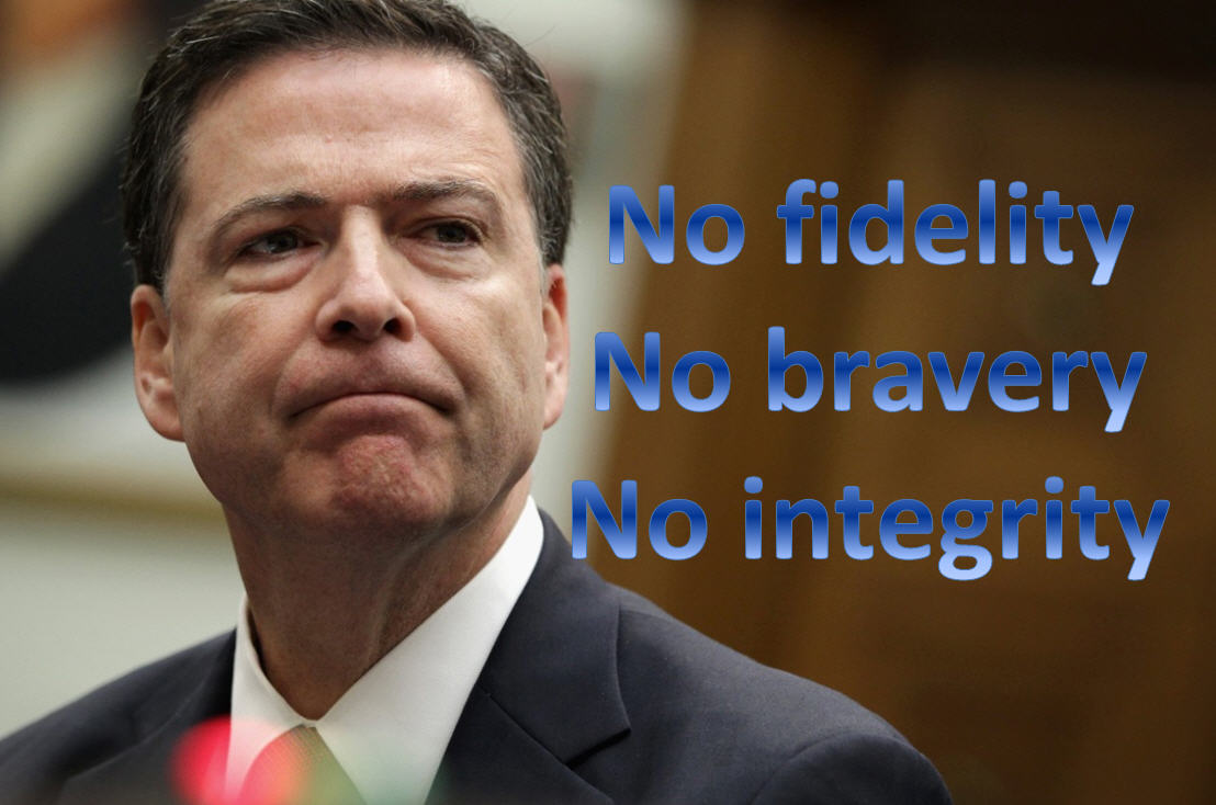 James Comey, No F B I