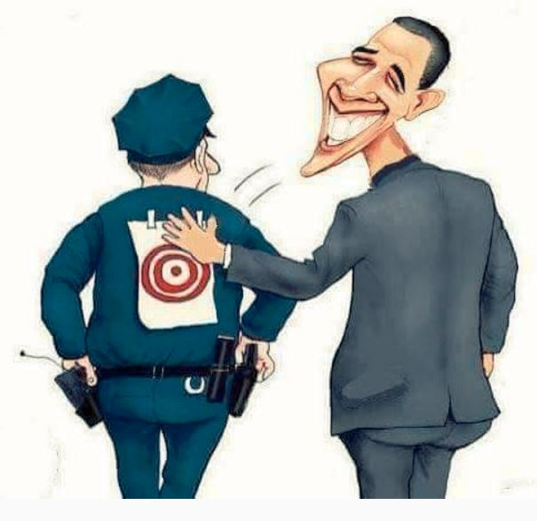 Obama TARGETING COPS