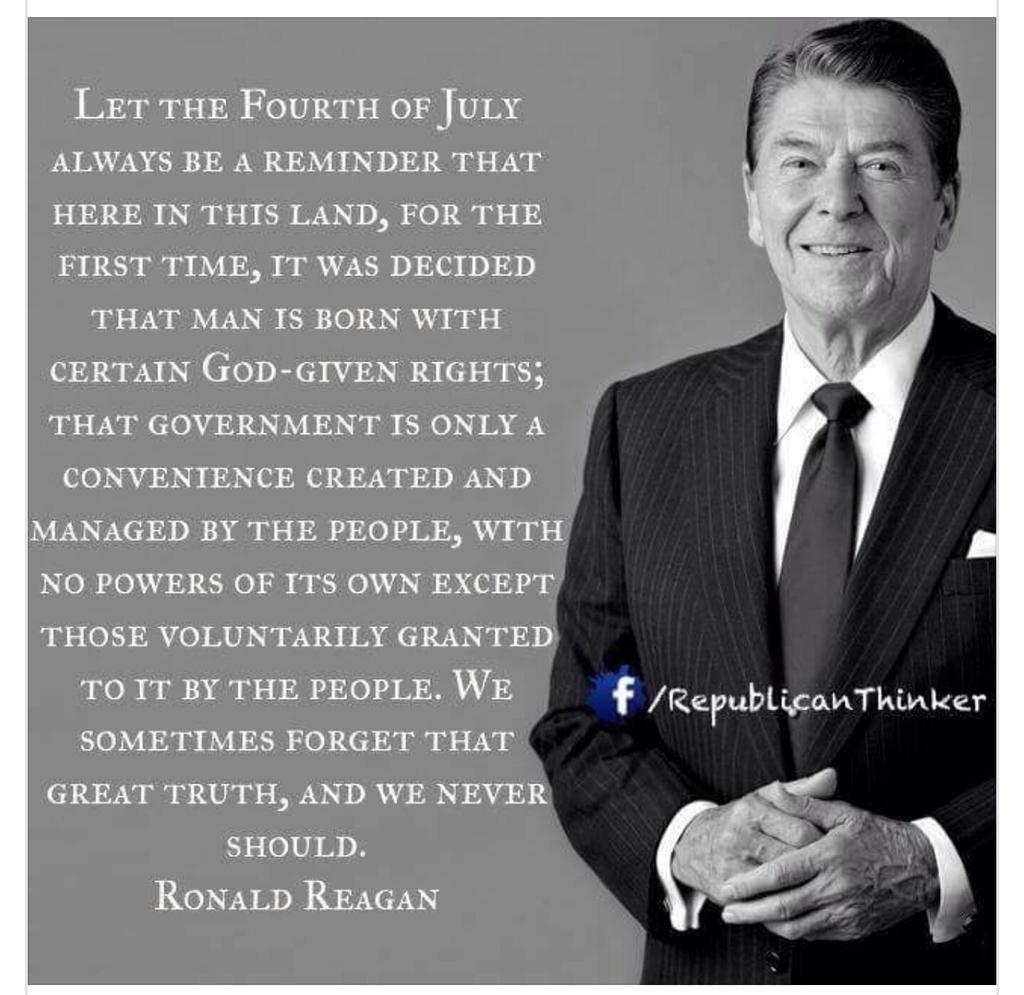 Ronald Reagan July 4th