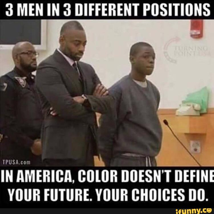 Blacks In America - 3 Types