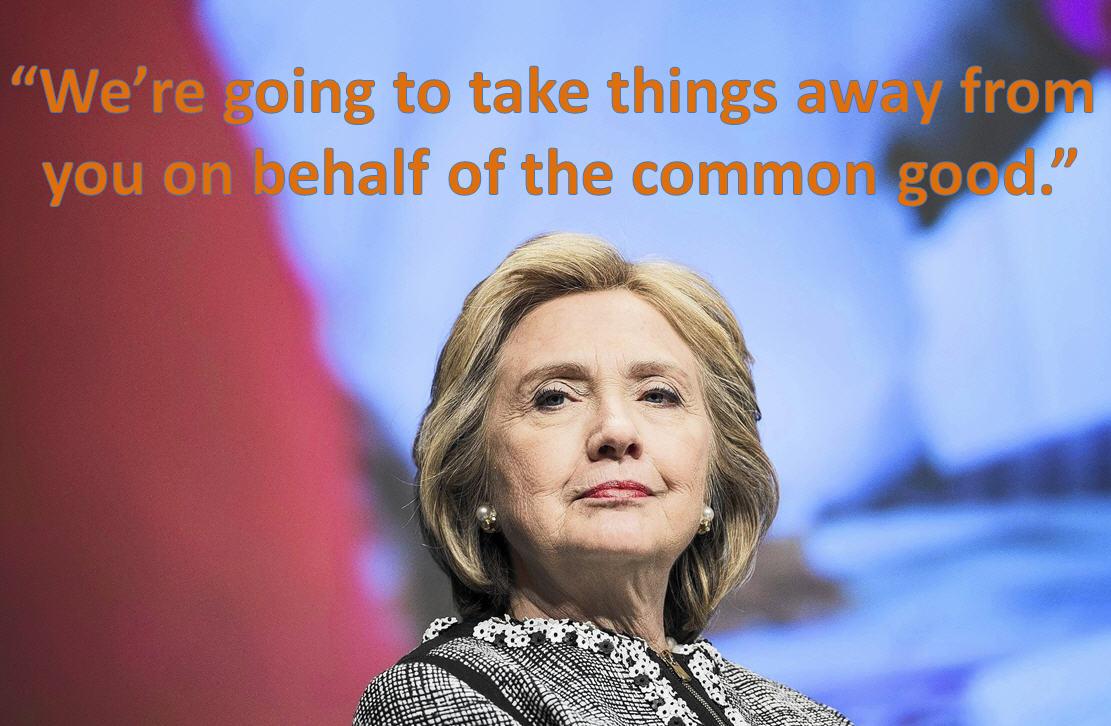 Hillary Clinton Common Good