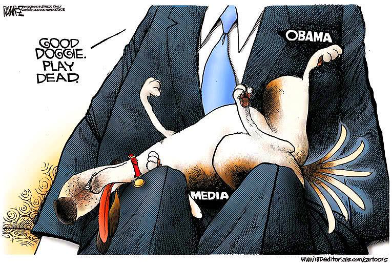 Obama Media Lapdog