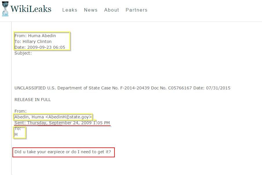 hillary-clinton-earpiece-email-via-wikileaks