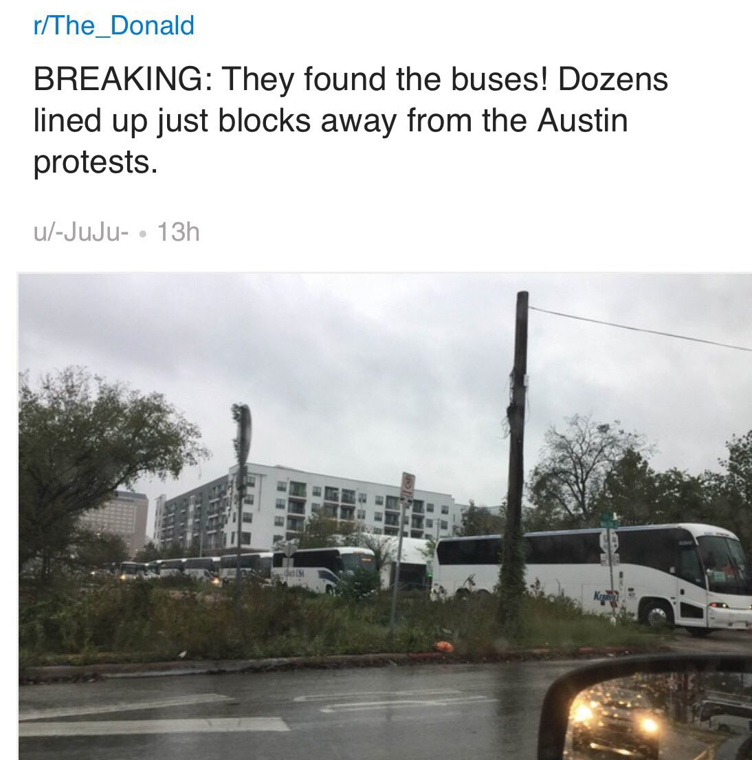 donald-trump-protests-2-buses-in-austin