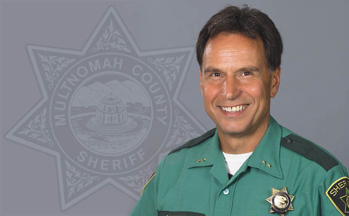 Image result for picture of Multnomah County Sheriff Mike Reese