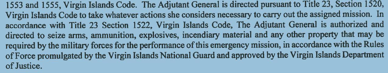Virgin islands gun laws